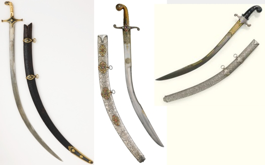 Scimitars and Kilijs